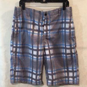 Zoo York Board Shorts  Gray/ Blue Size 34